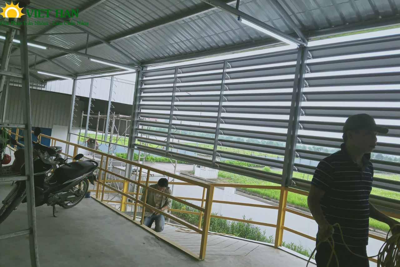 Một số công trình lam nhôm mà Việt Hàn thực hiện trong đầu năm 2021