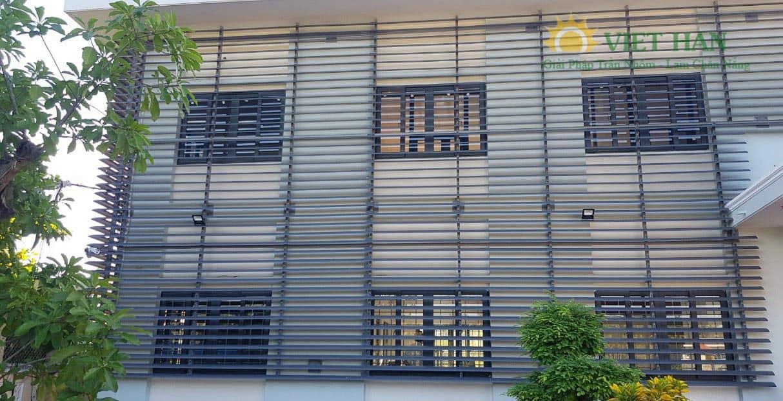 Lắp đặt lam chắn nắng elip trong công trình có những lợi ích gì?
