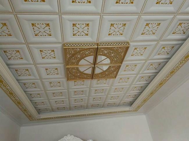 Trần nhôm trang trí, lựa chọn hoàn hảo cho phòng khách